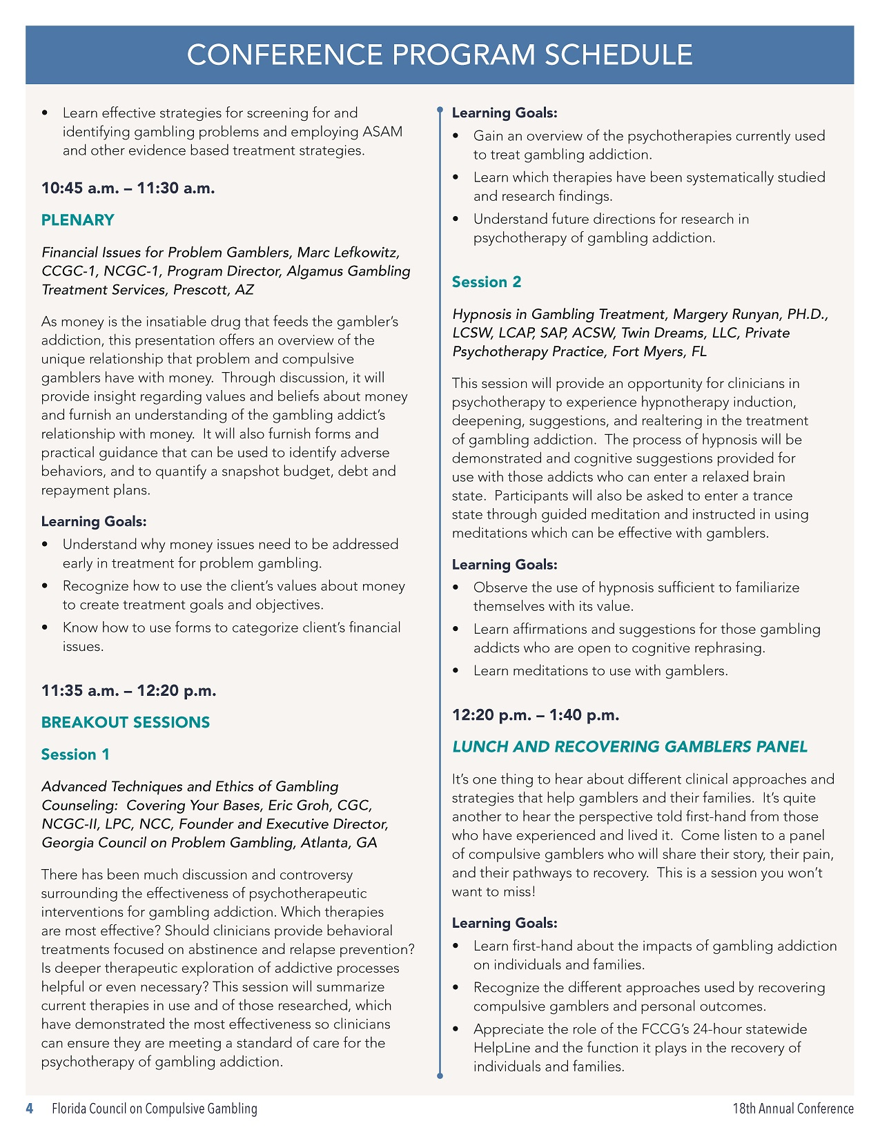 18th Annual Conference Program Schedule_Page_2