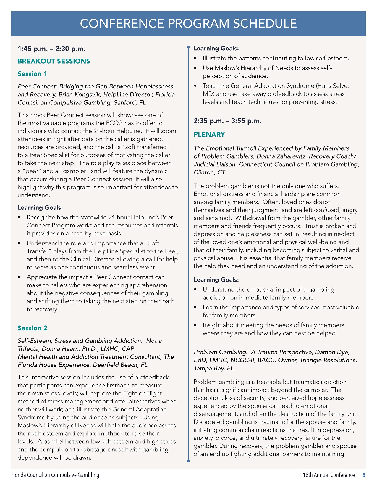 18th Annual Conference Program Schedule_Page_3